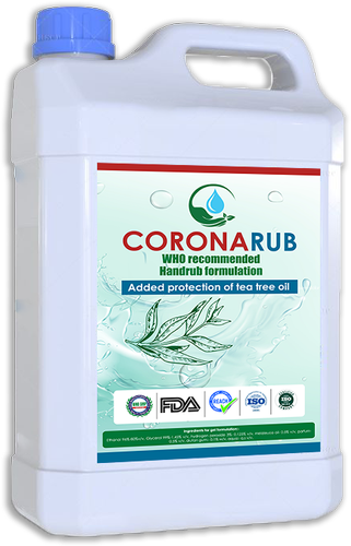 CORONARUB 325 Disinfectant 5ltr Pack
