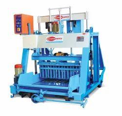 Semi automatic hydraulic block making machine