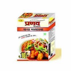 Pranav 10 g Chana Masala, Packaging: Box