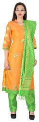Trendy Chanderi Gota Patti Salwar Kameez