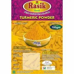 Packed Turmeric Powder, Packaging Type Available: Packets, Packaging Size Available: 500 g