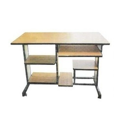 Metal Frame Computer Table In Heavy Duty Box Pack Lab Furniture