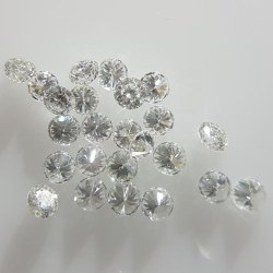 3mm RBC GH SI1 Clarity Lab Grown CVD Diamond