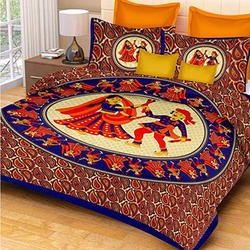 Cotton Double Bedsheet Set