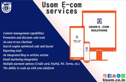E-Com Android and web application, With 24*7 Support