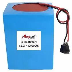 Li-Ion Battery Pack 59.2V 11000 Mah