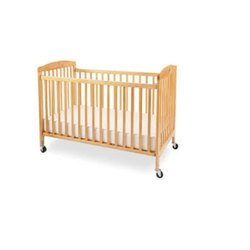 Brown Wooden Baby Crib