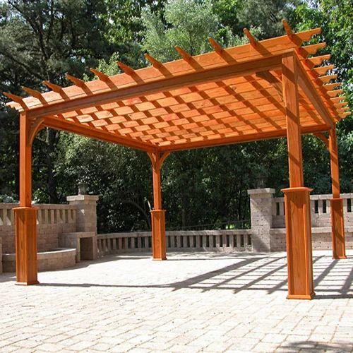 Pergola Wooden Pergola Manufacturer From New Delhi