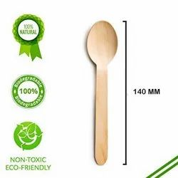 Birch Wooden Spoon - 140 mm