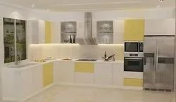PVC L Shaped Modular Kitchen