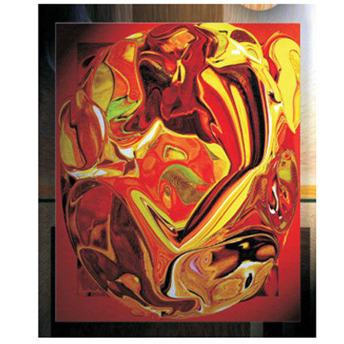 Glass Painting, Size: 24 X 48 Inches