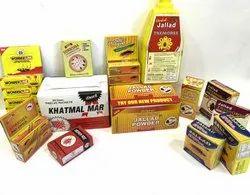 Cardboard Packaging Box Printing Service, For Home, Custom Printed
