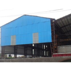 Steel / Stainless Steel Color Coated Factory Roofing Shed