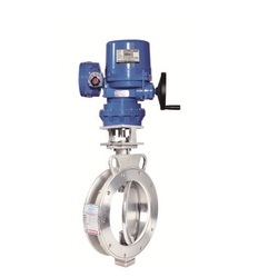 Electrical Actuator Operated High Performance Butterfly Valve