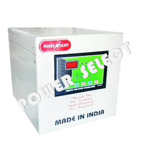 Creamy White Powerselect 5 Kva Single Phase Automatic