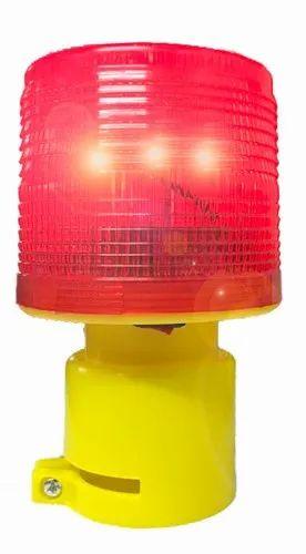 Solar Aviation Light For Tower Crane