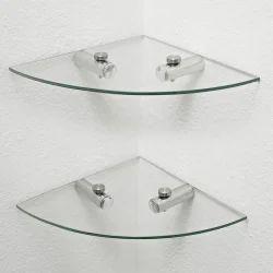 Corner Plain Glass