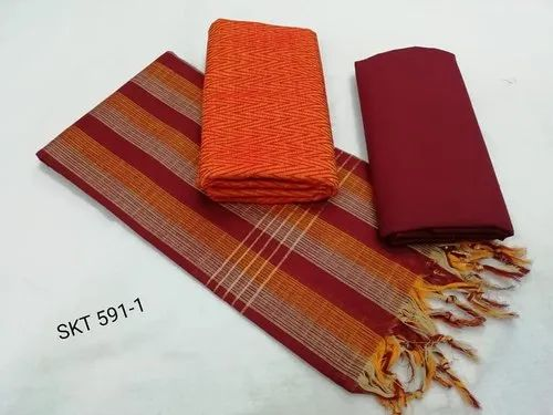 Mangalagiri Cotton Dress Materials