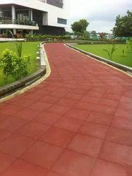 Rubber Floor Tiles, Thickness: 10-15 mm