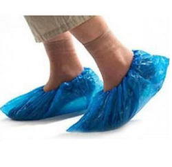 Polythene Blue Shoe Cover