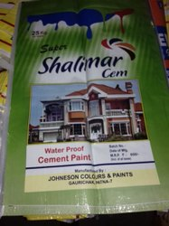 Cement Paints, Packaging Size: Variable, Packaging Type: Bucket