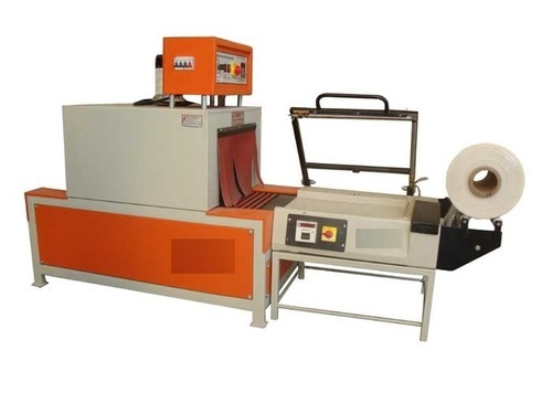 Mild Steel Shrink Wrapping Machine, 220V