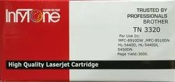 Brother TN 3320 (TN 3320) Compatible Black Toner Cartridge for Brother Printers
