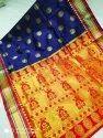 Printed Silk Balatan Saree, Dry Clean