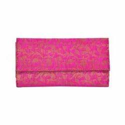 Azzra Pink Wallet Clutch