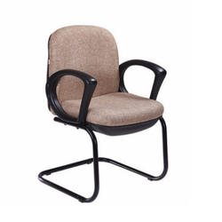 Mild Steel and Fabric Visitor Chair