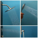 ERIS Steel Matte Shower Panel