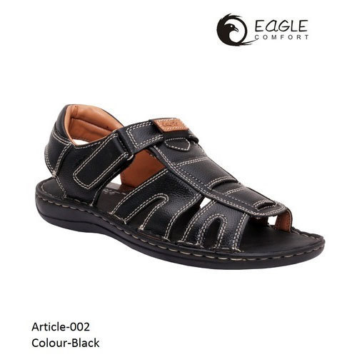 4853fb781477 Casual EAGLE COMFORT Men's Designer Leather Sandal, Size: 6-11, Rs ...