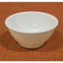 Plastic White Soup Bowl