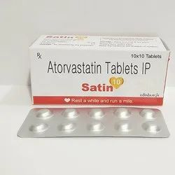 Atorvastatin 10mg Tablets