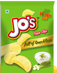 Jos Full of Cream and Onion Chips