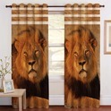 Crush Digital Print Curtain