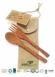 Natural Recycle Organic Cotton Cutlery  Bag
