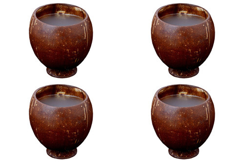 Coconut Shell Products Coconut Shell Tea Cup Manufacturer From