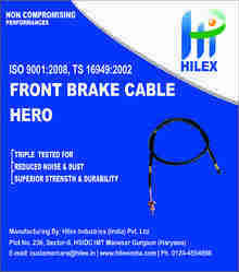 Hilex Splendor Brake Cable