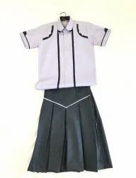 Girls School Shirt & Skirt