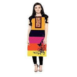Multicolored Casual Wear Kurti