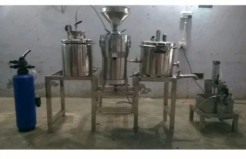 Soya Milk Mini Processing Machine
