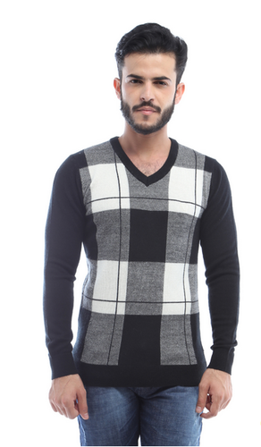 0aca3bbf9abbbd Full Sleeve Van Heusen Grey Sweater, Rs 2250 /piece, Van Heusen | ID ...