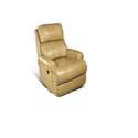 Bab Living Manual Leather Recliner Chair, For Home