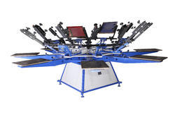 BHARATH Manual screen printing machine, BCP8C - S SERIES