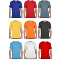 Half Sleeve Plain Mens Round Neck Dry Fit T Shirt, Size: S - Xxl