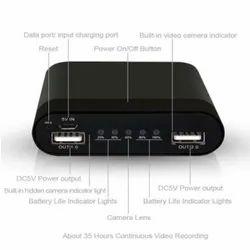 Spy Power Bank Camera