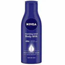Nivea Milk Nourishing Body Lotion With Deep Moisture Serum, Skin Type: Dry Skin