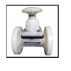 GOKUL PP Diaphragm Flange End Valve, Size: 15mm To 150mm, Diaphragm Valves