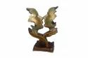 Poly Resin Valentine Couple, For Gift Showpieces, Box